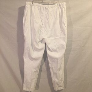 ab4a35a1994 Ashley Stewart Pants - 🎉 Ashley Stewart White Linen Pant Plus Size 20W🎉